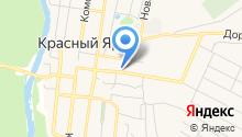 Красноярская районная станция по борьбе с болезнями животных на карте
