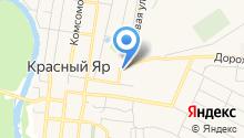 Отдел сводных статистических работ Красноярского района на карте