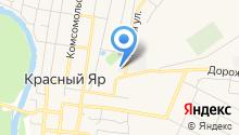 Красноярское ЖКХ, МУП на карте