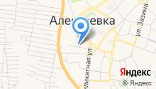 Алексеевская Застава на карте