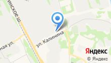 Автомагистраль Север на карте