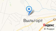 Сыктывдинское лесничество, ГУ на карте