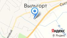 Управление Пенсионного фонда РФ по Республике Коми в Сыктывдинском районе на карте