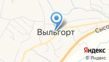Газпром межрегионгаз Ухта на карте
