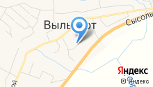 Выльгортская средняя общеобразовательная школа №1 на карте