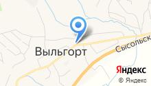 Главное бюро медико-социальной экспертизы по Республике Коми на карте