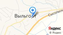 Сыктывдинская центральная районная больница на карте