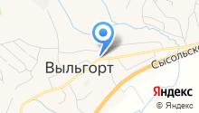 Главное бюро медико-социальной экспертизы по Республике Коми, ФКУ на карте