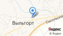 Выльгортский детский сад №8 на карте