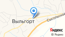 Сыктывдин, ПО на карте