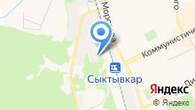 Авторемонт на Лесопарковой на карте