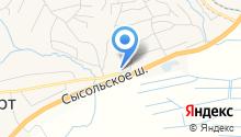 Сеть фирменных ликеро-водочных магазинов на карте