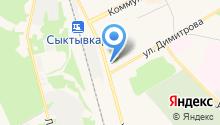 Банкомат, Западно-Уральский банк Сбербанка России на карте