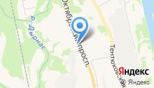 1 отряд ФПС по Республике Коми на карте