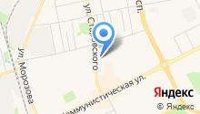 Автостоянка на ул. Старовского на карте