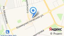 ODRI на карте