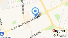 Крош на карте