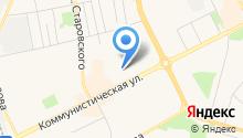 Акойл Коми на карте