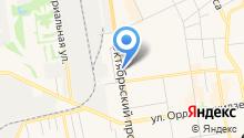 Автодонар на карте