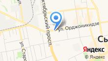 АкваКоми на карте