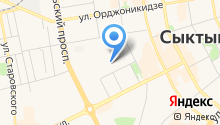 DHL Express на карте