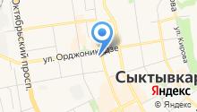 Институт Физиологии Коми научного центра Уральского отделения РАН на карте
