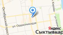 Адвокатский кабинет Комарова А.Л. на карте