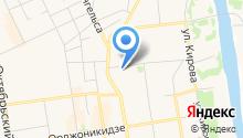 Аквастар на карте