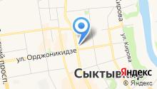 InFit на карте