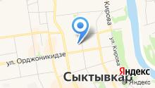 Акрилика-Коми на карте