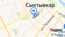 АЦ-НАКС-Коми, ЗАО на карте