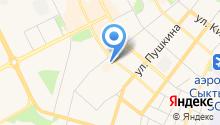 Архивное Агентство Республики Коми на карте