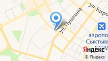 Адвокат Попов М.В. на карте