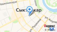 Администрация Главы Республики Коми и Правительства Республики Коми на карте