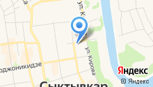 Аджастер на карте