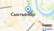 EVRO ТУР КОМИ на карте