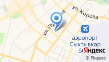 Автохозяйство администрации Главы Республики Коми на карте
