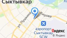 ЮТэйр-Экспресс на карте