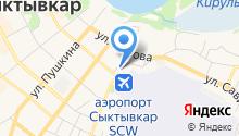 Авиаметтелеком Росгидромета, ФГБУ на карте