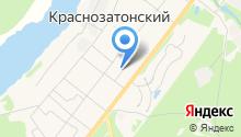 Администрация п.г.т. Краснозатонский на карте
