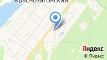Автомойка на Бульварной на карте