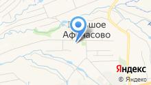 Исполнительный комитет Афанасовского сельского поселения на карте