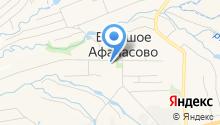 Афанасовская врачебная амбулатория на карте