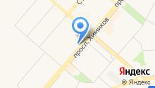 Народный кредит на карте