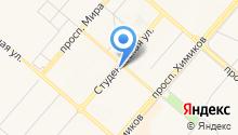 АвтоЛидер-НК на карте