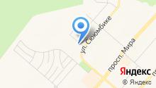 Мастерская по ремонту обуви и изготовлению ключей на ул. Сююмбике на карте