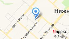 ЭВМ-сервис на карте