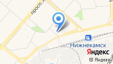 Нижнекамский мобильный сервис на карте