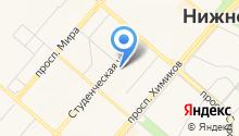 Нижнекамский химико-технологический институт на карте