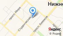 НХТИ, Нижнекамский химико-технологический институт на карте